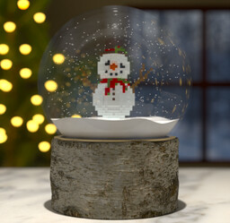 """""""Frosty"""" - The Snowman Minecraft Map & Project"""