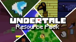 UNDERTALE Resource Pack Minecraft Texture Pack