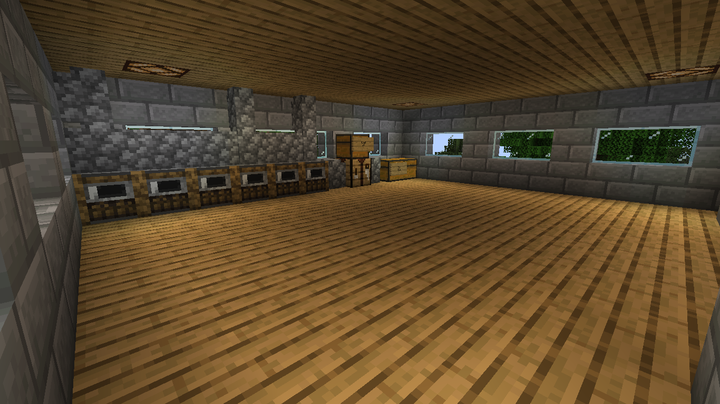 The Third or maybe forth floor, but I call it third, the ultra basic kitchen!