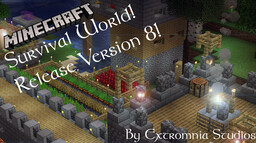 Survival World, By Extromnia Studios, Java Edition Only Minecraft Map & Project