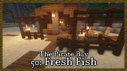 Pirate Bay #50: Fishing Rack Minecraft Map & Project
