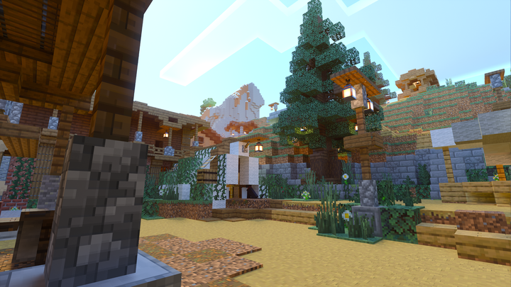 Survival spawn, outdoors