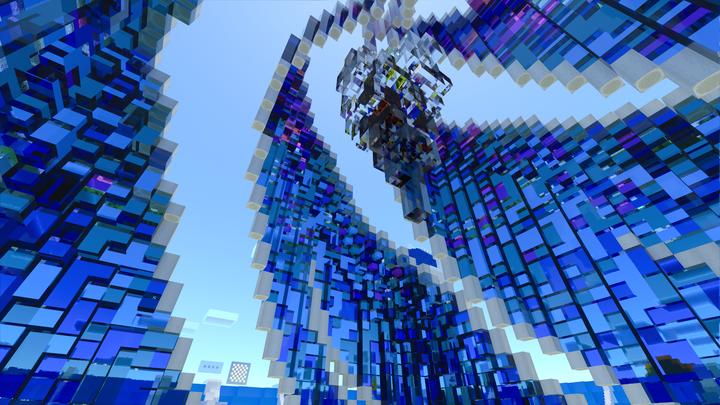 Interior of creative spawn