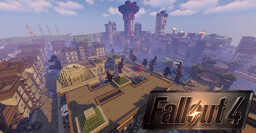 F A L L O U T: Shadow of Boston (WIP for Download) Minecraft Map & Project