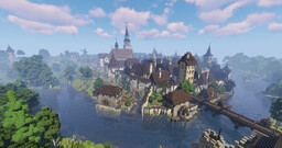 Haderbach [realistic German town] Minecraft Map & Project