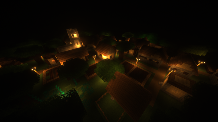 The Village, A Mob Arena Map