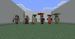 Small Japanese Statues Minecraft Map & Project