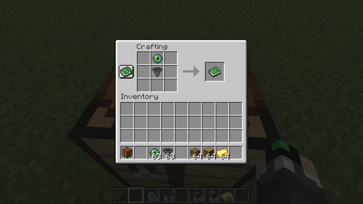 How to craft an Ender Hopper