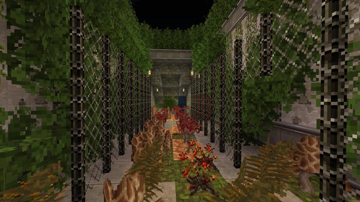 A path of overgrown nightmares await...
