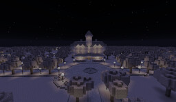 1950's Black & White Country Estate Murder Mystery Minecraft Map & Project