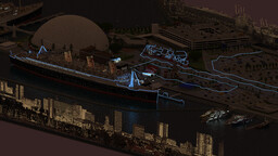Rms Queen Mary In (Long Beach CA LA) 2021 Update for Download! Minecraft Map & Project