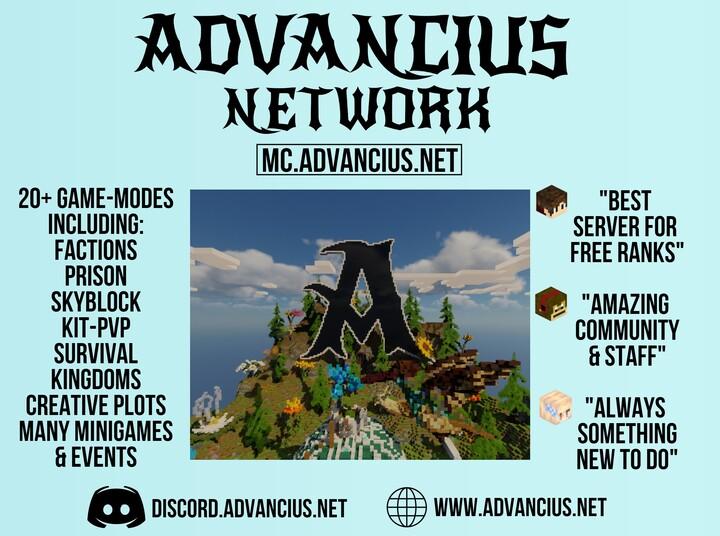 Advancius Main Poster