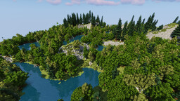 Project Alia Terra - Wonders of Earth (24k x 18k) Download Minecraft Map & Project