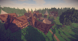 Medieval Nordic Village Minecraft Map & Project