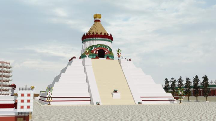 Temple of Ehecatl - Quetzalcoatl
