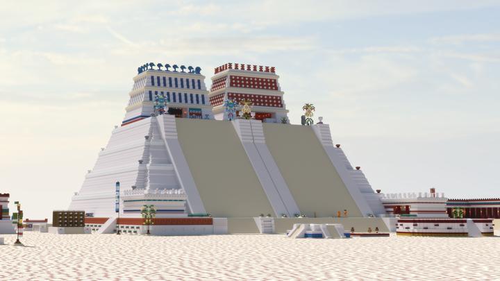 Huey Teocalli - Templo Mayor