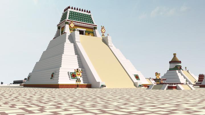 "Temple of the Sun ""Tonatiuh"""