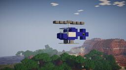 Helicopter Datapack (1.16+) Minecraft Data Pack
