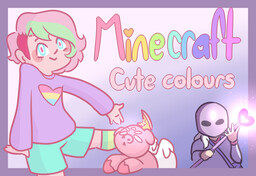 UnstableMysterys Cute Colours Minecraft Texture Pack