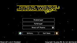 --STAR WARS--  | for Java Edition 1.16.4 Minecraft Texture Pack