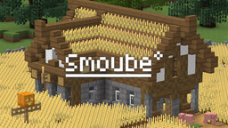 (8x8) Smoube - Get a cartoon and clean vanilla look, already 50% finished! Minecraft Texture Pack