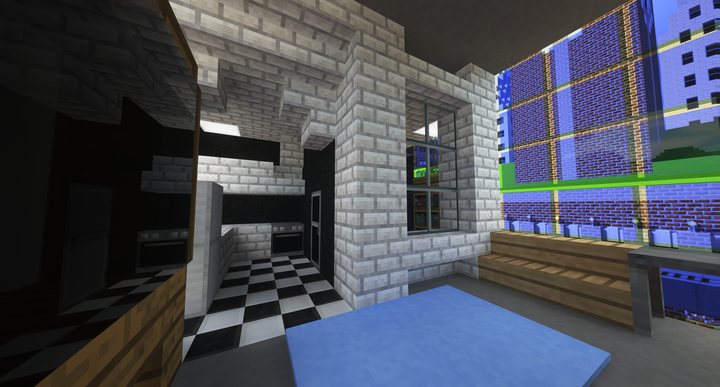An apartment in the Elytra Center