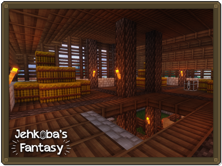 A warmer colour palette than default makes any space that much friendlier - even a stinky old barn.