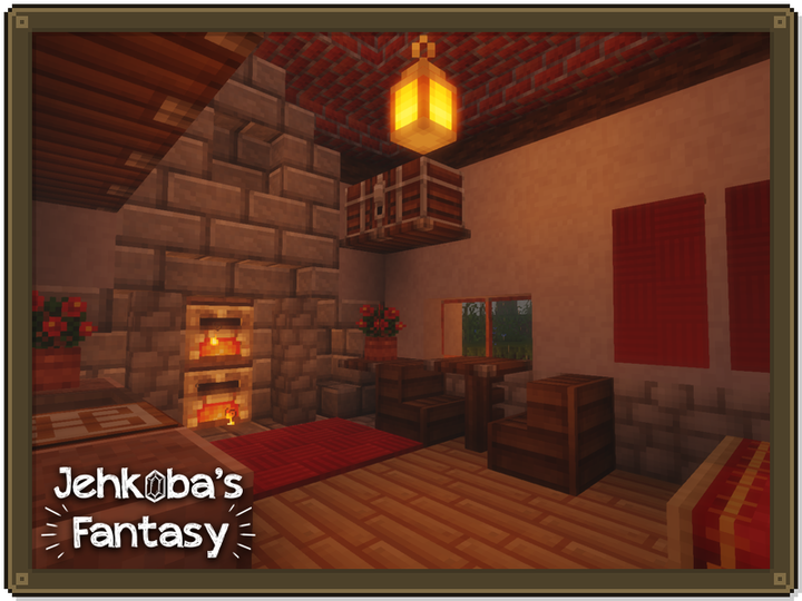 Ahh, home sweet home - made that much better with Sildurs Vibrant Shaders.