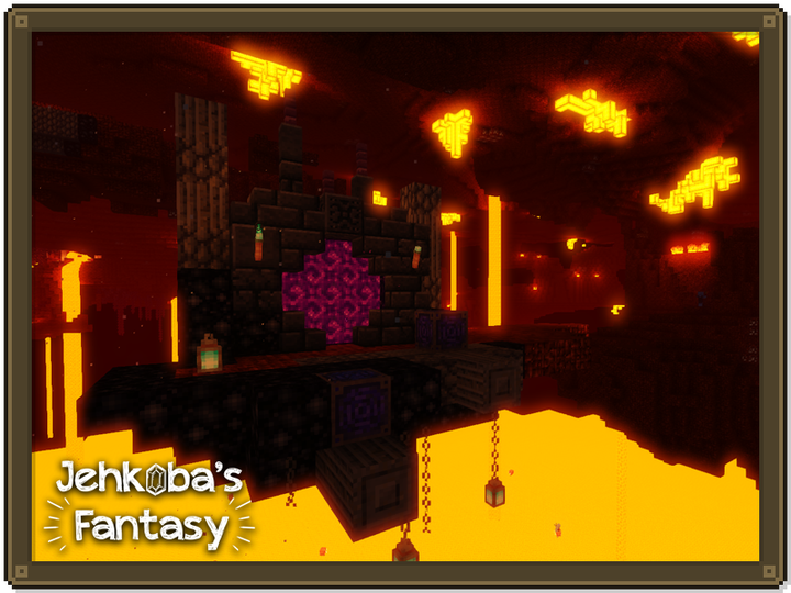Ahh, the nether - a lovely spot for a vacation.