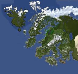 Project Alia Terra - Wonders of Earth (24k x 18k) Download Minecraft Map & Project