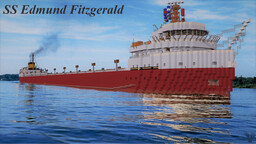 SS Edmund Fitzgerald (1972) | Full Interior | Download Minecraft Map & Project