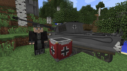[1.7.10] WW2 Official Pack Improved for Flan's Mod Minecraft Mod