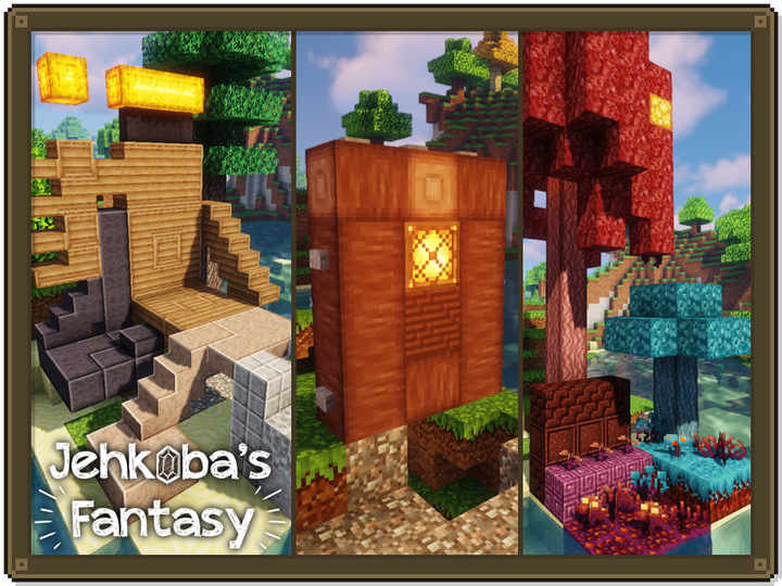 New Optifine-enabled connected textures, plus a slew of block refinements in all categories.