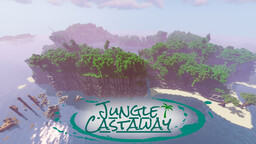 Jungle Castaway survival spawn v1.1 Minecraft Map & Project