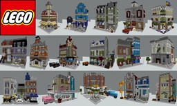 All LEGO Modular Buildings in Minecraft (updated 2021) Minecraft Map & Project