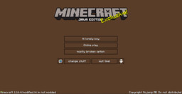 new texture pack i made Minecraft Texture Pack