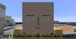 Joji's FiskHeroes One Punch Man Addon Minecraft Texture Pack
