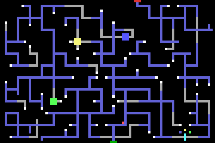 full map of the maze