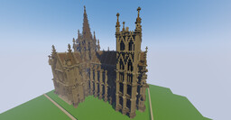 The Cathedral of the Great Furnace Minecraft Map & Project