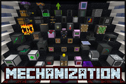 Mechanization - Fully Featured Tech Datapack Minecraft Data Pack