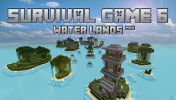 Survival Games 6 (Water Lands) Minecraft Map & Project
