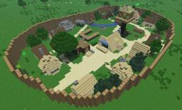 Asterix & Obelix Dorf Minecraft Map & Project