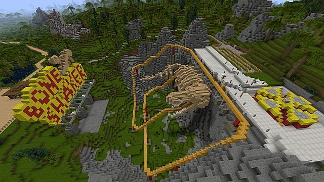 Jurassic Rebuild The Old Resource Pack Minecraft Texture Pack – Jurassic World Map Minecraft 1 7 10