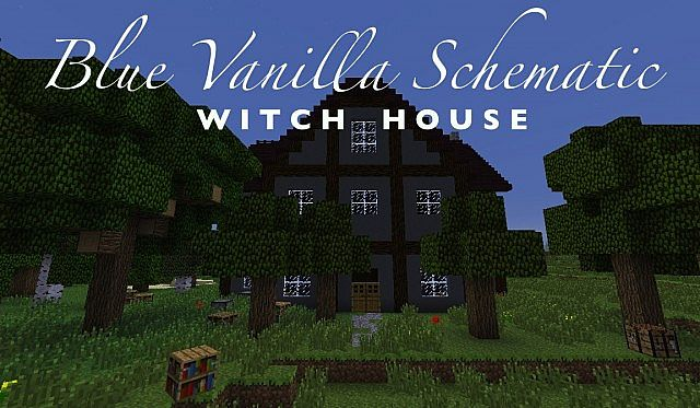 minecraft tutorial world witch hut