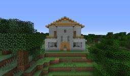 Modern Bachelor Pad w/ Nice Backyard Minecraft Map & Project