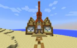 KoolKevinKontest BeachHouse Minecraft Map & Project