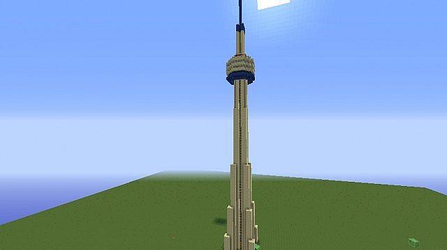 Cn Tower Toronto Minecraft Map