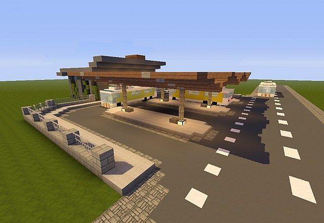 Minecraft School Bus Build