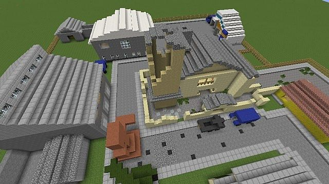 Standoff Black Ops 2 Map Minecraft Project