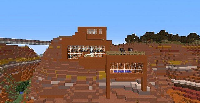 Mesa House On Epzloft Hd Gaming Tempmap Minecraft Project